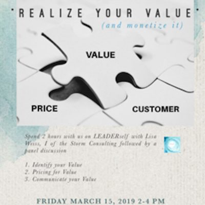 Realize Your Value